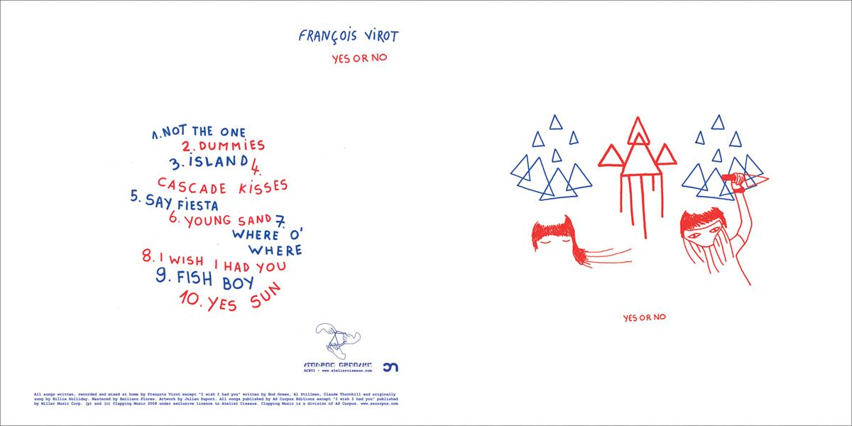 François Virot – Yes or no   Atelier Ciseaux